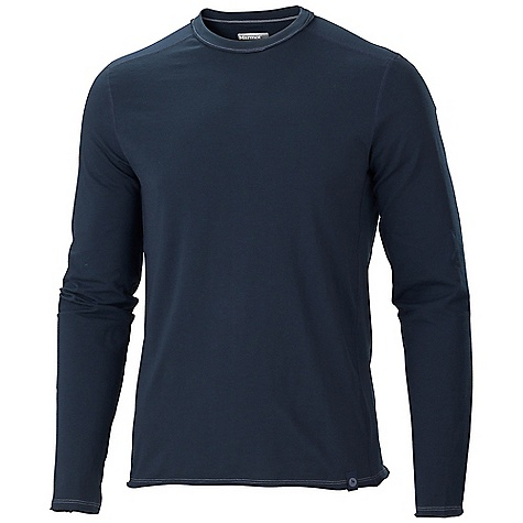 Free Shipping. Marmot Men's Edgewood LS Shirt DECENT FEATURES of the Marmot Men's Edgewood Long Sleeve Shirt Soft, Comfortable, Lightweight Performance Knit Fabric Ultraviolet Protection Factor (UPF) 30 Dri-Release for Permanent Moisture Wicking and Quick - Drying Properties Wool for Breathability and Natural Warmth Flat-Locked Seams for Added Comfort Contrast Stitch Details Tag-Free Neckline The SPECS Weight: 5.5 oz / 155.9 g Fit: Regular Material: Dri-release Wool 88% Polyester, 12% Wool - $74.95
