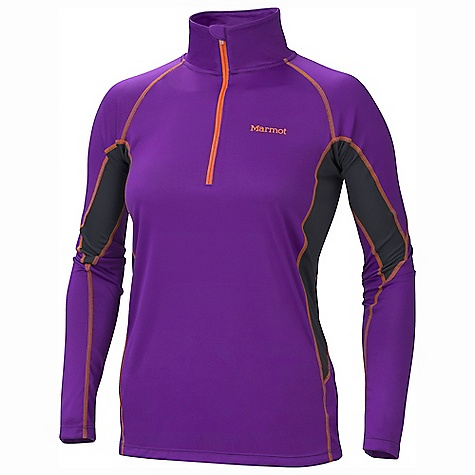 Free Shipping. Marmot Women's Lightweight 1-2 Zip LS DECENT FEATURES of the Marmot Women's Lightweight 1/2 Zip Long Sleeve Polartec Power Dry with Cocona Performance Technology Marmot UpCycle Product with Recycled Polyester Cocona for Natural Odor Protection Quick-Drying and Wicking Stretch for Increased range of motion Flat-Locked Seams for Added Comfort Mesh Panels for Increased Mobility Tag-Free Neckline The SPECS Weight: 5.5 oz / 155.9 g Material: PolartecPower Dry 100% Polyester (29% Cocona) Light Weight 3.5 oz/yd Center Back Length: 26.5in. Fit: Athletic - $54.95