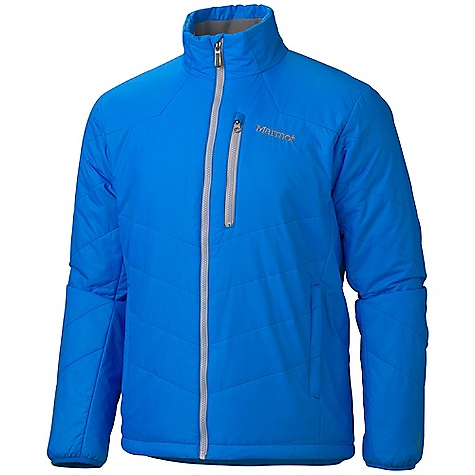 On Sale. Free Shipping. Marmot Men's Start House Jacket DECENT FEATURES of the Marmot Men's Start House Jacket Thermal R Insulation Zip Hand warmer Pockets Zip Chest Pocket Elastic Bound Cuffs Interior Zip Pocket DriClime Lined Collar Elastic Draw Cord Hem Angel-Wing Movement The SPECS Weight: 1 lb 4 oz / 567 g Fit: Regular Material: 100% Nylon Ripstop DWR 1.4 oz/yd - $70.99
