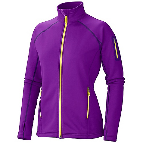 On Sale. Free Shipping. Marmot Women's Power Stretch Jacket DECENT FEATURES of the Marmot Women's Power Stretch Jacket Polartec Power Stretch Flat Lock Construction Zip Sleeve Pocket Zippered Hand Pockets Elastic Bond Cuffs with Integrated Thumb Holes Elastic Draw Cord Hem The SPECS Weight: 10.6 oz / 300.5 g Center Back Length: 24.5in. Fit: Athletic PolartecPower Stretch 91% Polyester 9% Elastane 5.9 oz/yd - $73.99