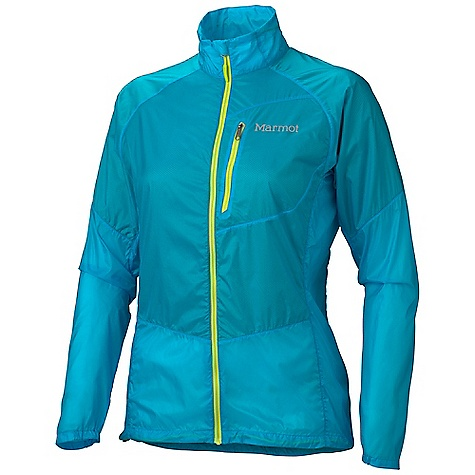 On Sale. Free Shipping. Marmot Women's Nanowick Jacket DECENT FEATURES of the Marmot Women's Nanowick Jacket Wind Resistant, Water Repellent, and Breathable Zonal Placed Interior DriClime Mesh Wicking Lining Ultra Light Construction Zippered Chest Pocket with Headphone Port Packs into Pocket 360 Reflectivity Collar with Adjustment Cord Cuffs with Partial Elastic Closure Elastic Draw Cord Hem The SPECS Weight: 4.6 oz / 130.4 g Material: 100% Nylon Mini Rip 0.9 oz/yd 78% Polyester, 22% Nylon DriClime Mesh Center Back Length: 26in. Fit: Athletic - $99.96