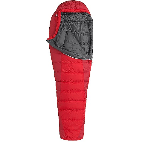 Camp and Hike Free Shipping. Marmot Always Summer Sleeping Bag DECENT FEATURES of the Marmot Always Summer Sleeping Bag 650 Fill Down EN Tested Nautilus 5-Baffle Hood Heater Pocket in Foot Box in.Feelyin. Draw Cords Classic Trapezoidal Foot Box Ground-Level Side Seams Hood Draw Cord Locking Zippers Stash Pocket Stretch Tricot Baffles Two Hang Loops Two Way Zipper Sliders Velcro-free Face Muff Zipper Guards Stitch-through Construction Zipper Garage 100% Polyester Highloft Fleece The SPECS Temperature Rating: 40deg F / 4deg C EN Tested Comfort: 45.5deg F / 7.5deg C EN Tested Lower Limit: 37.2deg F / 2.9deg C EN Tested Extreme: 10.9deg F / -11.7deg C Zip Option: Left Zip, Right Zip Fill: 650 Fill Power Down Insulation: 650 Fill Power Down Lining: 100% Nylon Plain Weave WR 1.3 oz/yd 100% Nylon Micro Double Ripstop WR/ AC 1.3 oz/yd 100% Nylon WR 1.4 oz/yd The SPECS for Regular Weight: 2 lbs 3 oz / 992 g Length: 6'0in. The SPECS for Long Weight: 2 lbs 5.5 oz / 1063 g - $178.95