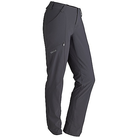Free Shipping. Marmot Women's Rockstar Pant DECENT FEATURES of the Marmot Women's Rockstar Pant Marmot M3 Softshell Water Repellent and Breathable Hand Pockets Zippered Cargo Pocket Snap Closure and Zip Fly Belt Loops The SPECS Weight: 9.8 oz / 277.8 g Material: Softshell Double Weave 86% Nylon 14% Elastane 5.0 oz/yd Fit: Regular - $99.95