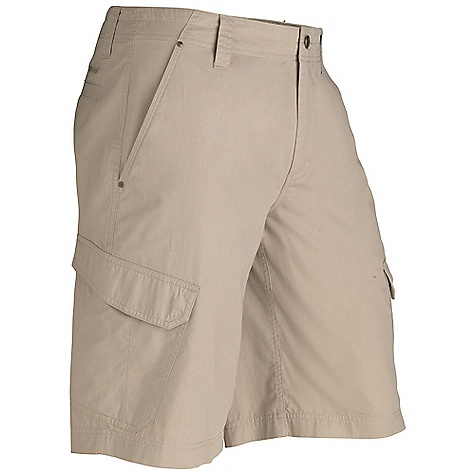 Free Shipping. Marmot Men's Hayes Cargo Short DECENT FEATURES of the Marmot Men's Hayes Cargo Short Soft, Comfortable, Lightweight Performance Woven Fabric Ultraviolet Protection Factor (UPF) 30 Nylon for Durability Cotton for Comfort Side Cargo Pockets with Snap Closure Garment Washed for Soft Hand The SPECS Weight: 10.3 oz / 292 g Material: 70% Cotton, 30% Nylon Twill 4.3 oz/yd Fit: Regular Inseam: 12in. - $67.95