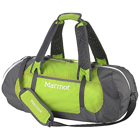 Entertainment Free Shipping. Marmot Kompressor Duffle DECENT FEATURES of the Marmot Kompressor Duffle Removable Closed-cell Foam Back Sheet Compression Straps Side Mesh Stash Pocket Zippered Pocket on End to Secure Smaller Items Key Clip Attachment Shoulder Strap Carrying Handles The SPECS 210d Nylon Double Ripstop 70d Double Ripstop Silicone Impregnated Nylon Reinforcement: 210d Nylon Double Ripstop Weight: 1 lb / 454 g Volume: 2014 cubic inches / 33 liter Access: Duffle Load - $78.95