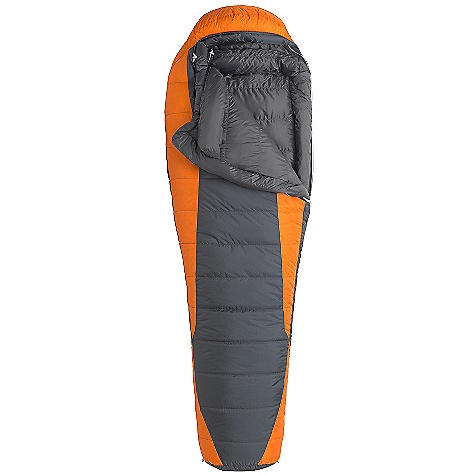 Camp and Hike Free Shipping. Marmot Never Summer MemBrain Sleeping Bag DECENT FEATURES of the Marmot Never Summer MemBrain Sleeping Bag Certified 650 Fill Power Down EN Tested Pertex Shield Waterproof/ Breathable Shell Down-filled Collar with Easy Access Draw Cord Heat Bump Draft Tube Classic Trapezoidal Foot Box in.Feelyin. Draw Cords Ground-Level Side Seams Heater Pocket in Foot Box Hood Draw Cord Locking Zippers Nautilus 5-Baffle Hood Stash Pocket Stretch Tricot Baffles Stuff and Storage Sack Included Two Hang Loops Two Way Zipper Sliders Velcro-free Face Muff Zipper Guards The SPECS Temperature Rating: 15deg F / -9deg C EN Tested Comfort: 30deg F / -1.1deg C EN Tested Lower Limit: 19.2deg F / -7.1deg C EN Tested Extreme: -12.8deg F / -24.9deg C Zip Option: Left Zip, Right Zip Fill: -12.8deg F / -24.9deg C Insulation: 650 Fill Power Down Lining: 100% Nylon Plain Weave WR 1.3 oz/yd MemBrain 2L 100% Nylon Ripstop 2.0 oz/yd The SPECS for Regular Weight: 3 lbs 4 oz / 1474 g Length: 6'0in. The SPECS for Long Weight: 3 lbs 8 oz / 1588 g - $348.95