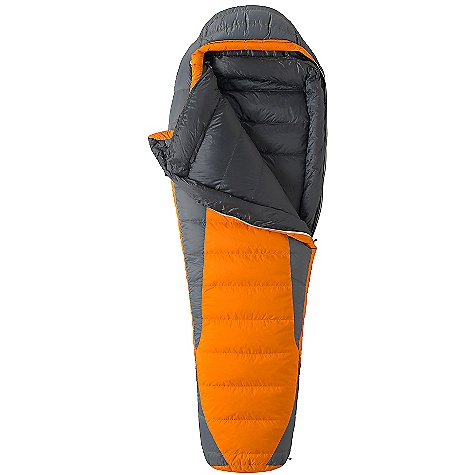 Camp and Hike Free Shipping. Marmot Never Summer Sleeping Bag DECENT FEATURES of the Marmot Never Summer Sleeping Bag Certified 650 Fill Power Down EN Tested Down-filled Collar with Easy Access Draw Cord Heat Bump Draft Tube Nautilus 5-Baffle Hood Classic Trapezoidal Foot Box in.Feelyin. Draw Cords Ground-Level Side Seams Heater Pocket in Foot Box Hood Draw Cord Locking Zippers Stash Pocket Stretch Tricot Baffles Stuff and Storage Sack Included Two Hang Loops Two Way Zipper Sliders Velcro-free Face Muff Zipper Guards The SPECS Temperature Rating: 0deg F / -18deg C EN Tested Comfort: 15.8deg F / -9.0deg C EN Tested Lower Limit: 2.5deg F / -16.4deg C EN Tested Extreme: -34.8deg F / -37.1deg C Zip Option: Left Zip, Right Zip Fill: 650 Fill Power Down Insulation: 650 Fill Power Down Lining: 100% Nylon Plain Weave WR 1.3 oz/yd 100% Nylon Ripstop AC 1.3 oz/yd 100% Nylon WR 1.4 oz/yd The SPECS for Regular Weight: 3 lbs 14.46 oz / 1771 g Length: 6'0in. The SPECS for Long Weight: 4 lbs / 1814 g - $278.95