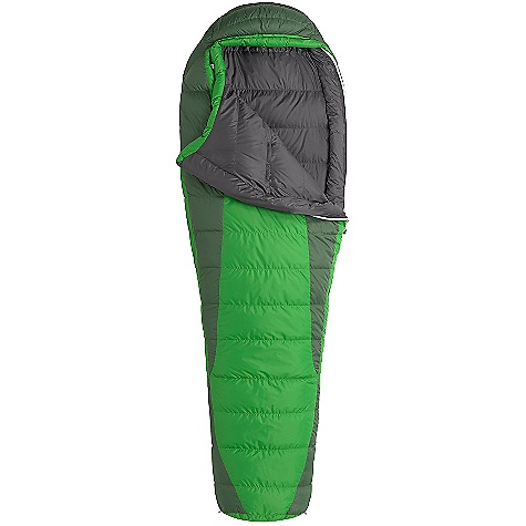 Camp and Hike Free Shipping. Marmot Never Winter Sleeping Bag DECENT FEATURES of the Marmot Never Winter Sleeping Bag Certified 650 Fill Power Down EN Tested Nautilus 5-Baffle Hood Heater Pocket in Foot Box in.Feelyin. Draw Cords Classic Trapezoidal Foot Box Ground-Level Side Seams Hood Draw Cord Locking Zippers Stash Pocket Stretch Tricot Baffles Two Hang Loops Stuff and Storage Sack Included Zipper Garage Velcro-free Face Muff Two Way Zipper Sliders Zipper Guards The SPECS Temperature Rating: 30deg F / -1deg C EN Tested Comfort: 41.4deg F / 5.2deg C EN Tested Lower Limit: 32.4deg F / 0.2deg C EN Tested Extreme: 4.5deg F / -15.3deg C Zip Option: Left Zip, Right Zip Fill: 650 Fill Power Down Insulation: 650 Fill Power Down Lining: 100% Nylon Plain Weave WR 1.3 oz/yd 100% Nylon Ripstop AC 1.3 oz/yd 100% Nylon WR 1.4 oz/yd The SPECS for Regular Weight: 2 lbs 7 oz / 1106 g Length: 6'0in. The SPECS for Long Weight: 2 lbs 10 oz / 1191 g - $198.95