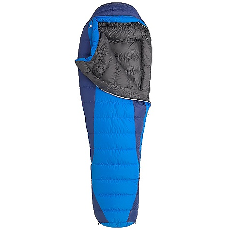 Camp and Hike Free Shipping. Marmot Sawtooth Sleeping Bag DECENT FEATURES of the Marmot Sawtooth Sleeping Bag Certified 650 Fill Power Down EN Tested Downfilled Collar with Easy Access Draw Cord Heat Bump Draft Tube Nautilus 5-Baffle Hood Classic Trapezoidal Foot Box in.Feelyin. Draw Cords Ground- Level Side Seams Heater Pocket in Foot Box Hood Draw Cord Locking Zippers Stash Pocket Stretch Tricot Baffles Stuff and Storage Sack Included Two Hang Loops Two Way Zipper Sliders Velcro-free Face Muff Zipper Guards The SPECS Temperature Rating: 15deg F / -9deg C EN Tested Comfort: 26.1deg F / -3.3deg C EN Tested Lower Limit: 14.5deg F / -9.8deg C EN Tested Extreme: -19.1deg F / -28.4deg C Zip Option: Left Zip, Right Zip Fill: 650 Fill Power Down Insulation: 650 Fill Power Down Lining: 100% Nylon Plain Weave WR 1.3 oz/yd 100% Nylon Ripstop AC 1.3 oz/yd 100% Nylon WR 1.4 oz/yd The SPECS for Regular Weight: 3 lbs 1 oz / 1389 g Length: 6'0in. The SPECS for Long Weight: 3 lbs 4 oz / 1474 g The SPECS for X-Wide Weight: 3 lbs 7 oz / 1559 g - $228.95