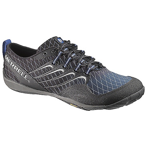 On Sale. Free Shipping. Merrell Men's Sonic Glove Shoe DECENT FEATURES of the Merrell Men's Sonic Glove Shoe Synthetic leather and fabric uppert Integrated Areoblock fabric gaiter with zip closure for easy on and off protection for cool weather conditionst Integrated microfiber footbed treated with Aegis antimicrobial solution resists odort EZ Clean finish sheds dirt and resists stainst Merrell Omni-Fit lacing System provides a precise, glove-like fit 4 mm compression molded EVA midsole cushions 1 mm forefoot shock absorption plate maintains forefoot flexibility and protects the foot by distributing pressure 0 mm heel to ball drop keeps you connected to your terrain Vibram trail Glove Sole/rubber Compound TC-1 Weight: 1/2 pair: 6.5 oz - $67.99
