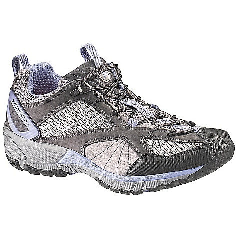 Camp and Hike On Sale. Free Shipping. Merrell Women's Avian Light Ventilator Shoe DECENT FEATURES of the Merrell Women's Avian Light Ventilator Shoe Strobel construction offers flexibility and comfort Waterproof nubuck leather, pig suede and mesh upper Mesh lining treated with Aegis antimicrobial solution resists odor Bellows tongue keeps debris out Ortholite anatomical footbed Molded nylon arch shank Compression molded EVA footframe for stability and comfort Molded nylon arch shank Merrell Q-Form Comfort midsole provides women's specific stride-sequenced cushioning Merrell Air Cushion in the heel absorbs shock and adds stability 3.5 mm sole lug depth Vibram Avian Light Sole/TC5+ Rubber Weight: 1 lb 2 oz - $79.99