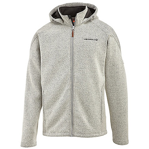 On Sale. Free Shipping. Merrell Men's Big Sky Hoodie FEATURES of the Merrell Men's Big Sky Hoodie Wool blend fabric with fleece backing Dual hand pockets Attached three piece, toggle-adjustable hood Stand up collar Draw cord adjustable hem Merrell logo badge - $93.99