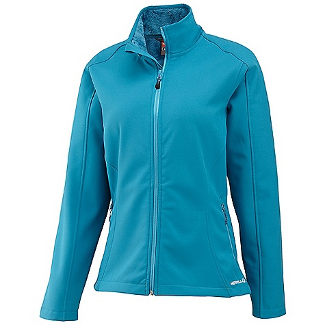 Free Shipping. Merrell Women's Siren Softshell Jacket DECENT FEATURES of the Merrell Women's Siren Softshell Jacket High loft, fuzzy fleece lining in body and hood offers soft warmth Three piece hood Elbow darts increase mobility and range of motion Higher collar for extra neck coverage Lightweight soft shell fabric Longer drawcord adjustable hem won't ride up Mesh front pockets with reverse coil satin zip closure Overhanging cuff offers extra hand protection Tonal stitching throughout The SPECS Merrell Aeroblock provides high wind-resistance and breathability 97% polyester, 3% elastane DWR finish 5 CFM Center Back Length: Medium: 27in. - $128.95
