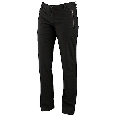 Free Shipping. Merrell Women's Alperton Pant DECENT FEATURES of the Merrell Women's Alperton Pant Slim fit Low rise waist Exposed Metaluxe zip-secure pockets Button closure waist The SPECS Inseam: 32in. Stretch Dobby 97% Cotton, 3% Elastane - $64.95