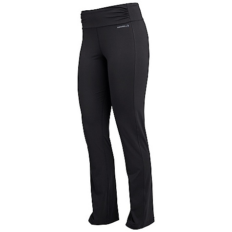 Fitness Free Shipping. Merrell Women's Ellsworth Pant DECENT FEATURES of the Merrell Women's Ellsworth Pant Straight leg Slight gathering and roaching detail add stylish, flattering touch Gusseted crotch reduces seam-rub The SPECS Inseam: 33in. Technology: Wick 78% Polyester, 22% Elastane 50+ UPF fabric - $58.95