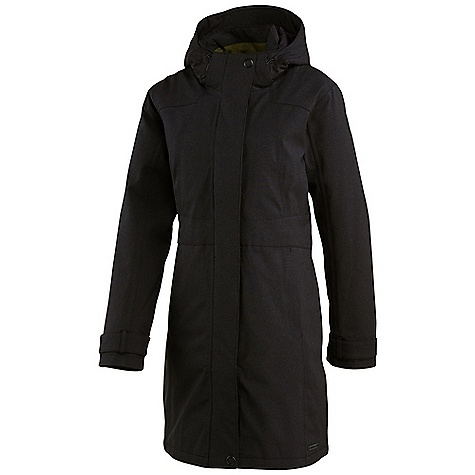 Free Shipping. Merrell Women's Ellenwood Insulated Coat DECENT FEATURES of the Merrell Women's Ellenwood Insulated Coat Fully seam-sealed for compete waterproof protection Interior zip secure media pocket carries MP3 player Fabric-covered, zip-secure handwarmer pockets Removable, adjustable and contoured hood protects in style Snap-adjustable cuff Interior adjustable drawcord waist The SPECS 100 g 2-Layer Merrell Opti-Shell waterproof, breathable fabric keeps you dry and comfortable Merrell Opti-Warm lightweight, low-bulk synthetic insulation keeps you warm 100% polyester 10,000 mm/ 10,000 g/m2/24hr DWR finish Center Back Length: Medium: 36in. - $228.95