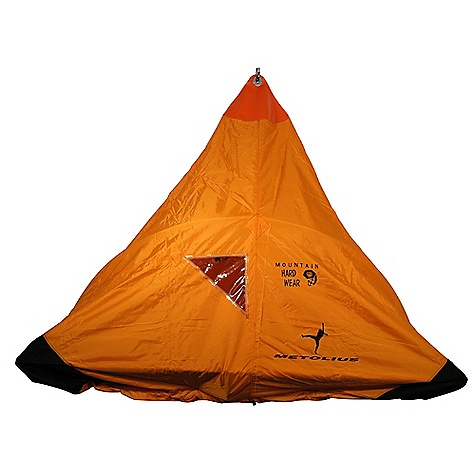 Climbing Free Shipping. Metolius Bomb Shelter Single Portaledge Fly DECENT FEATURES of the Metolius Bomb Shelter Single Portaledge Fly The innovative top attachment point gives you an absolutely bombproof attachment to the anchor Durathane haul bag material is radio-frequency welded into a seamless top cap The bombproof, aircraft quality 6061-T6 aluminum clip-in point incorporates 3 plates with 4 through-bolts to securely anchor the fabric and insure a leak-proof seal There is no webbing to wick water through the fly The durable main body is constructed from polyurethane-coated 420d Oxford and has all seams hot taped There is an optional storm pole for more room, increased water repellency, and greater comfort A window is positioned on the fly to allow the user to view the conditions outside without letting the weather inside. Tested at altitudes of over 27,000 feet, Mountain Hardwar's proprietary clear film, UVX, is tear-proof and will not cloud like PVC or plastic film. UVX is UV and cold resistant, and remains flexible to -66deg Fahrenheit A heavy-duty, Jr. Ballistics abrasion skirt protects the area on the fly between the ledge and the wall from abrasion All four corners are double reinforced with Durathane haul bag material Includes an integrated, compression stuff sack The SPECS Weight: 4 lbs. 15 oz. / 2.25 kg OVERSIZE ITEM: We cannot ship this product by any expedited shipping method (3-Day, 2-Day or Next Day). Even if you pick that option, it will still go Ground Shipping. Sorry for being so mean. ALL CLIMBING SALES ARE FINAL. - $324.95
