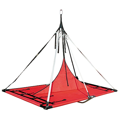 Climbing Free Shipping. Metolius Bomb Shelter Double Portaledge FEATURES of the Metolius Bomb Shelter Double Portaledge The strongest, most durable portal edge available Innovative spreader bar keeps the frame rigid and the bed tight (1-1/8in. / 28.5 mm) aircraft-quality 6061-T6 tubing for maximum strength and rigidity CNC milled corner fittings for maximum strength, light weight and easy set-up Anodized poles and corner fittings keep the parts from galling and sticking for easy set-up, corrosion resistance and durability The heavy-duty (960/1080d Montana Polyester) bed is doubled in the high-stress, center section and employs Durathane haul bag material for wall-side abrasion guards Color-coded webbing risers are reinforced at the frame attachment and employ cam lock buckles for super-smooth operation, even when weighted The riser straps gather to a gusseted yoke to keep them free of tangles, and then attach to a free-floating, full-strength, master clip-in loop Includes Durathane haul sack - $749.95