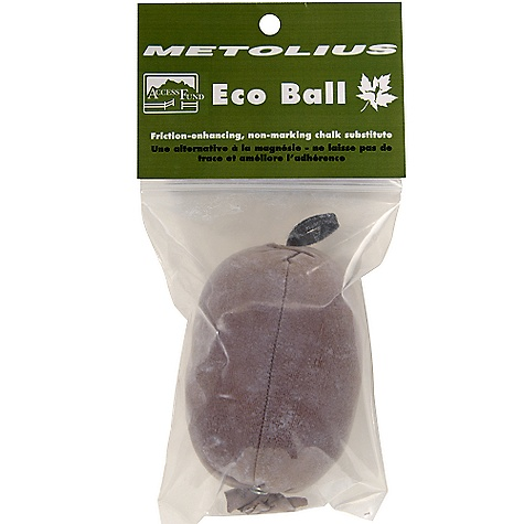 Climbing Metolius Eco Ball FEATURES of the Metolius Eco Ball Alternative to chalk Leaves no trace on rock Highly absorbent Metolius is working with the Access Fund to help protect and preserve your favorite crags - $3.95