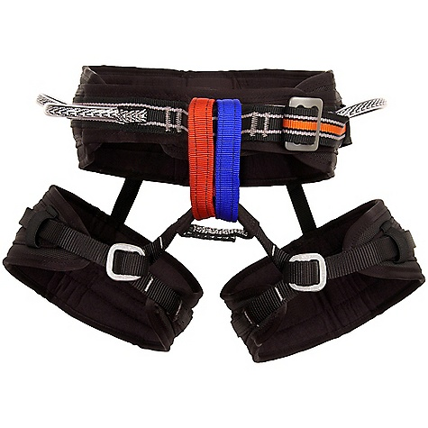 Climbing Free Shipping. Metolius Safe Tech Waldo Harness FEATURES of the Metolius Safe Tech Waldo Harness Updated diamond pattern body fabric Drop seat rear elastic The world's most comfortable big wall harness (1/2in. / 12 mm) thick slabs of foam contour around waist and legs for ultimate comfort Monstrous components (5-5/8in. / 143 mm) waist belt, 5in. / 127 mm leg loops) spread the load on extended nailing missions Our patented, adjustable-rise 3-D system creates the best-fitting harness in the world Super-durable, closed-cell polyethylene foam with fleece lining for maximum comfort Dual front belay loops to minimize gear clutter Sizing Note: When fitting the Waldo harness the buyer should choose a size that will allow them to tighten the harness a few more inches from what feels initially comfortable Wall climbers find that after a few days on a route, with a load of gear clipped to the harness, the ability to faux further tighten the harness is crucial The SPECS for Extra Small Weight: 25.3 oz / 708 g Waist Measurement: 24 - 27in. / 61 - 69 mm The SPECS for Small Waist Measurement: 27 - 30in. / 69 - 76 mm Waldo Waist Measurement: 29.0 - 31.5in. / 74 - 80 mm The SPECS for Medium Waist Measurement: 30 - 33in. / 76 - 84 cm Waldo Waist Measurement: 31.5 - 35.0in. / 80 - 89 cm The SPECS for Large Waist Measurement: 33 - 37in. / 84 - 94 mm Waldo Waist Measurement: 35.0 - 39.0in. / 89 - 99 cm The SPECS for Extra Large Waist Measurement: 37 - 41in. / 94 - 104 mm - $128.95