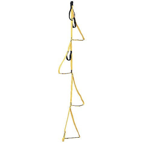 Climbing Features of the Metolius 4 Step 1in. Aider Ladder 4-step version of the 5-Step Aider For Body Weight Only - $27.96