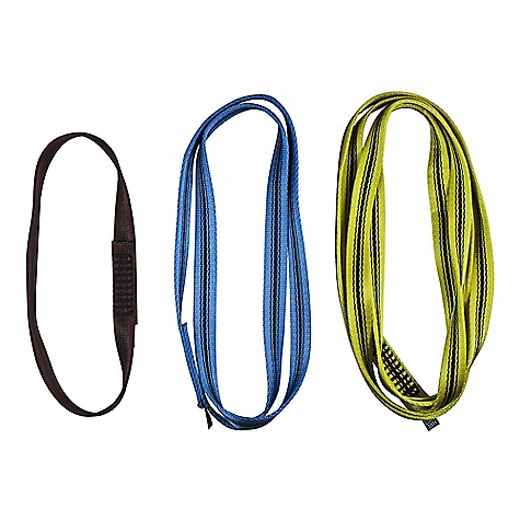 Climbing Metolius 18mm Open Sling FEATURES of the Metolius 18mm Open Sling Durable slings, great for everyday cragging and anchor-building - $3.95