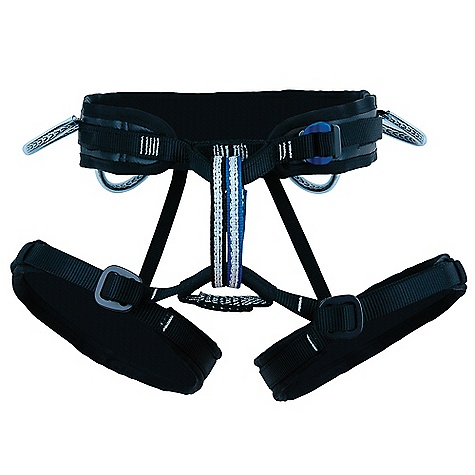 Climbing Free Shipping. Metolius Safe Tech Trad Harness FEATURES of the Metolius Safe Tech Trad Harness New, locking speed-buckle Light, sporty and Safe Tech strong Narrow components for unmatched comfort and freedom of movement Our patented, adjustable-rise 3-D system creates the best-fitting harness in the world Four gear loops and rear haul loop Innovative slot system keeps pad end in place Dual belay loops Adjustable leg loop elastics SPECIFICATIONS of the Metolius Safe Tech Trad Harness Weight: (M): 16.5 oz / 467 g CE/UIAA certified - $119.95