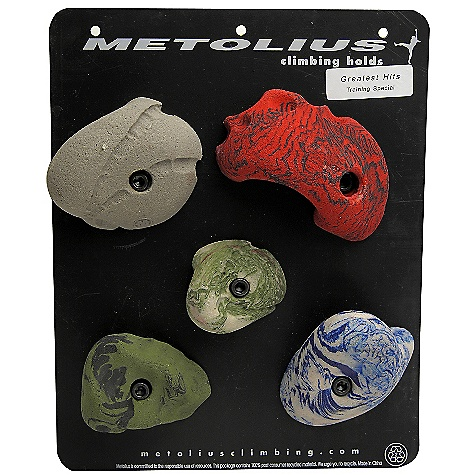 Climbing Features of the Metolius Mini Jug Holds 30 Pack Super-positive, medium-sized holds Great for kids and steep Climbing walls 9 different set styles available Attaches with 3/8in. socket-head cap screws and includes mounting hardwAre - $151.60