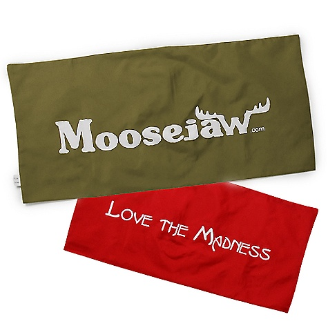 Camp and Hike Moosejaw Flag Most stuff we give away is decent but not really worth tweeting about. The Moosejaw Flag is no exception. If we were to wrap the flag around a wireless mouse I'd say in.tweet away my friendsin. but we're not, so I'd keep it to myself. Use code MJ30 to get the flag. So easy. Also, take a pic of you with your Moosejaw flag and send it to pictureman@moosejaw.com for 500 rewards points. MMB (My Mean Boss) made me write that part. - $1.00