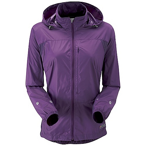 Climbing Free Shipping. Montane Women's Lite-Speed Jacket DECENT FEATURES of the Montane Women's Lite-Speed Jacket PERTEX Microlight outer that is windproof, fast drying and features a remarkable durable water repellent finish French seams throughout for extra strength, quality and weather resistance Articulated arms for reach high movement and tailored specifically to reduce hem lift Roll-away hood for quick access when bad weather hits Soft fleece chinguard around face and mouth for extra comfort Zipped chest security /map pocket for handy essentials whilst on the move Full length, semi-automatic YKK front zip with anti-snag baffle and wind-strip Low bulk elasticated cuffs which can be pulled up forearms to aid cooling Adjustable hem to prevent weather entry and heat loss Montane logo 360deg 'Dusk Till Dawn' reflective trim The SPECS Weight: 5.3 oz / 150 g Activities: Mountain Walking / Rock Climbing / Trekking / Travel Fit: Classic Mountain Fabric: PERTEX Microlight Mini Rip-stop Contrast: PERTEX Microlight Cross Rip-stop This product can only be shipped within the United States. Please don't hate us. - $108.95