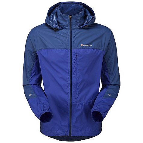 Climbing Free Shipping. Montane Men's Lite-Speed Jacket DECENT FEATURES of the Montane Men's Lite-Speed Jacket Pertex Microlight outer that is windproof, fast drying and features a remarkable durable water repellent finish French seams throughout for extra strength, quality and weather resistance Articulated arms for reach high movement and tailored specifically to reduce hem lift Roll-away hood for quick access when bad weather hits Soft fleece beardguard around face and mouth for extra comfort Zipped chest security /map pocket for handy essentials whilst on the move Full length, semi-automatic YKK front zip with anti-snag baffle and wind-strip Low bulk elasticated cuffs which can be pulled up forearms to aid cooling Adjustable hem to prevent weather entry and heat loss Montane logo 360deg 'Dusk Till Dawn' reflective trim Montane stuff sac and mini karabiner perfect for storage on the move The SPECS Weight: M: 6.5 oz / 185 g Activities: Mountain Walking / Rock Climbing / Trekking / Travel Fit: Classic Mountain Fabric: Pertex Microlight Mini Rip-stop Reinforcement: Pertex Microlight Cross Rip-stop This product can only be shipped within the United States. Please don't hate us. - $108.95