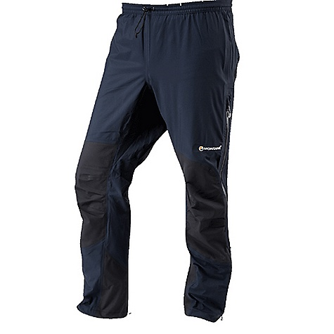 Climbing Free Shipping. Montane Men's Super Fly Pant DECENT FEATURES of the Montane Men's Super Fly Pant Exceptionally waterproof and breathable event Lightweight 3 Layer Free Flow NailHead tough reinforcement on the knees, ankles and seat provides protection against brush and rock Micro-taped seams throughout to increase breathable surface area Articulated knees and a diamond crotch for step high movement Elasticated waist with adjustable, lockable drawcord 3/4 length two way YKK Aqua Guard water resistant side zips with internal storm flap Press stud ankle adjustment for tight fit against footwear and to prevent heat loss The SPECS Weight: M: 12.3 oz / 350 g Activities: Mountain Walking / Alpine Climbing / Hill Walking / Trekking / Travel Fit: Classic Mountain Fabric: Event Lightweight 3 Layer Reinforcement: Free Flow NailHead 3 Layer This product can only be shipped within the United States. Please don't hate us. - $258.95
