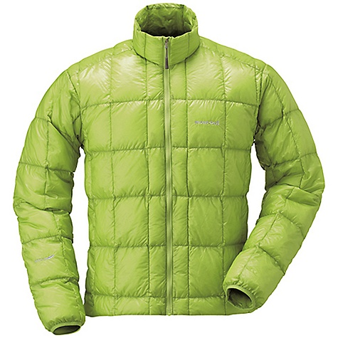 Climbing Free Shipping. MontBell Men's EX Light Down Jacket DECENT FEATURES of the MontBell Men's EX Light Down Jacket Sewn thru construction Elastic cuffs to seal out drafts No hand pockets Standard 25-wash rated DWR treatment Stuff sack included The SPECS Weight: Medium: 5.6 oz Fill Weight: 1.8 oz Fabric: 900 Fill power goose down 7-denier Ballistic Airlight calendered nylon ALL CLIMBING SALES ARE FINAL. This product can only be shipped within the United States. Please don't hate us. We cannot ship MontBell products outside the United States or Canada. Sorry about everything. - $198.95