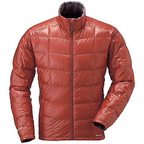 Climbing Free Shipping. MontBell Men's U.L. Down Jacket DECENT FEATURES of the MontBell Men's U.L. Down Jacket Sewn thru construction 2 zippered hand warmer pockets Stuff sack included The SPECS Fabric: 800 fill power goose down 15-denier Ballistic Airlight nylon shell 100-wash rated Polkatex DWR treatment Center Back Length: Medium: 27.6in. Compressed: 4.3in. x 7.3in. (stuff sack included) Weight: Medium: 8.0 oz Fill Weight: 2.0 oz ALL CLIMBING SALES ARE FINAL. This product can only be shipped within the United States. Please don't hate us. We cannot ship MontBell products outside the United States or Canada. Sorry about everything. - $154.95