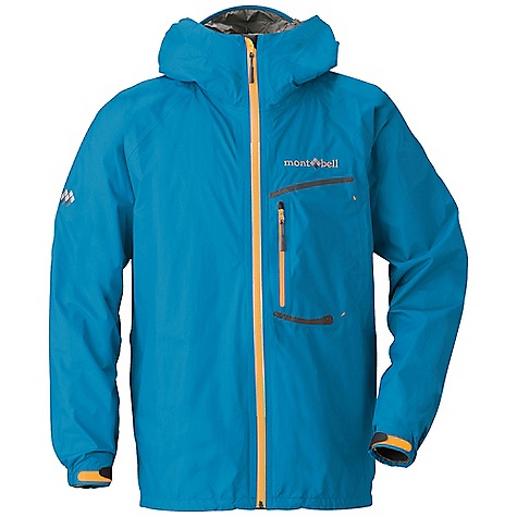 Climbing Free Shipping. MontBell Torrent Flier Jacket DECENT FEATURES of the MontBell Torrent Flier Jacket Fully seam taped Single, 6in. zippered chest pocket 15in. pit zips 2-way adjustable hood Draw cord hem adjustment Adjustable alpine cuff Weather resistant Aqua-Tect zipper Slightly articulated arms 2in. drop tail Stuff sack included The SPECS Weight: Medium: 8.6 oz Center Back Length: Medium: 28.3in. Compressed 3.0in. x 3.0in. x 5.8in. (stuff sack included) Fabric: 2.5-layer Gore-Tex Paclite technology 12-denier Ballistic rip-stop nylon Smart Sewing Technology for weight savings ALL CLIMBING SALES ARE FINAL. This product can only be shipped within the United States. Please don't hate us. We cannot ship MontBell products outside the United States or Canada. Sorry about everything. - $224.95