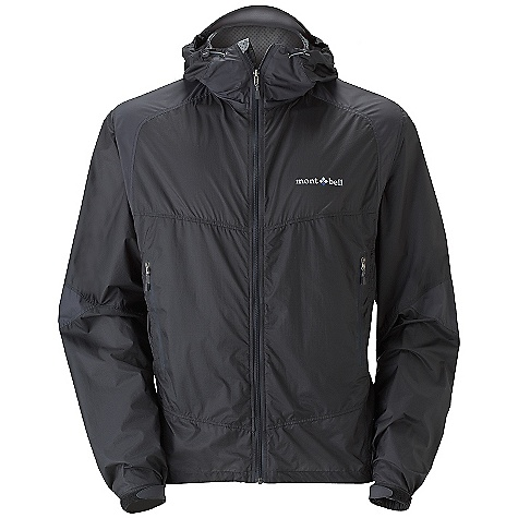 Climbing Free Shipping. MontBell Men's Dynamo Wind Parka DECENT FEATURES of the MontBell Men's Dynamo Wind Parka 100-wash rated Polkatex DWR treatment 2 mesh lined core vent hand pockets Draw cords for waist adjustment hidden in pockets Adjustable alpine cuff 2 internal drop-in pockets 2.5 inch drop tail Reflective logo on body and back Stuff sack included The SPECS Weight: Medium: 5.1 oz Compressed: 3.3in. x 2.0in. x 4.1in. (stuff sack included) Center Back Length: Medium: 28.5in. Fabric: 40-denier nylon taffeta for reinforcement 12-denier rip-stop Ballistic Airlight nylon Crimped fiber, woven fabric in.cut on the biasin. to provide 2 way or Bias stretch (back and sleeve) ALL CLIMBING SALES ARE FINAL. This product can only be shipped within the United States. Please don't hate us. We cannot ship MontBell products outside the United States or Canada. Sorry about everything. - $98.95