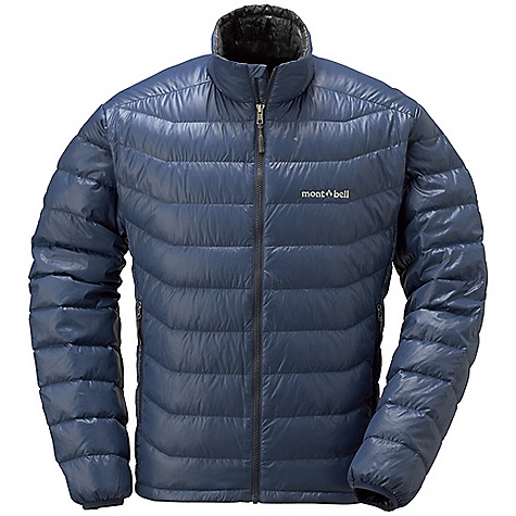 Climbing Free Shipping. MontBell Men's Highland Jacket DECENT FEATURES of the MontBell Men's Highland Jacket Standard DWR treatment Sewn through construction 2 zippered hand warmer pockets 2 interior drop-in pockets Elastic cuff Stuff sack included The SPECS 650 fill power goose down 40-denier nylon taffeta shell & lining DWR treated VISLON(R) zipper Center Back Length: 27.4'' (Size M) Weight: 12.2 oz. (Size M) Fill Weight: 3.0 oz. Compressed: 4.3'' x 7.7'' (stuff sack included) ALL CLIMBING SALES ARE FINAL. This product can only be shipped within the United States. Please don't hate us. We cannot ship MontBell products outside the United States or Canada. Sorry about everything. - $108.95