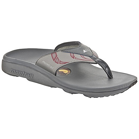 Entertainment Free Shipping. Montrail Men's Molokai Sandal DECENT FEATURES of the Montrail Men's Molokai Sandal A pair of Montrail classics, the original thermo-moldable flip flops offer incredible comfort and performance Synthetic-backed strap and slender toe post for on-foot comfort Prfrm footbed is custom moldable for incredible support and comfort Reinforced grid outsole pattern provides traction and surface protection Prfrm: The Science of in.Ahhhin.. Thermo-moldable foam conforms to your foot's unique bone structure for outstanding arch support and full-foot comfort The SPECS Midsole: Compression-molded EVA Durometer: 38 Asker C / Filler 35 Asker C ( 3 degrees) Outsole: Polyurethane Weight: 5.8 oz / 164 g - $59.95