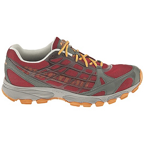 Free Shipping. Montrail Men's Rockridge Shoe DECENT FEATURES of the Montrail Men's Rockridge Shoe A breathable mesh upper welded with thin, midfoot thermoplastic overlays create a seamless and comfortable fit Thin forefoot synthetic overlay forms a frame for support without adding bulk or weight Full length compression molded EVA with Terra-Hex technology in the forefoot for added cushioning and multi-directional flexibility Dual lug design combined with full length Gryptonite outsole for great traction on a variety of surfaces The SPECS Fit Note: Snug heel, wider forefoot Midsole: Single-density compression-molded EVA Durometer: Asker C (+/-3 degrees) Ride Height: 21 mm heel, 11 mm forefoot Outsole: Gryptonite Weight: 11.4 oz / 323 g Protection: Forefoot-only Trail Shield Toe Counter: Synthetic overlay - $90.00