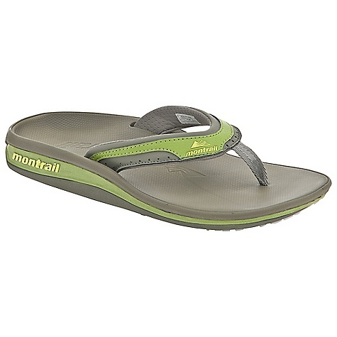 Entertainment Free Shipping. Montrail Women's Lithia Loop Flip DECENT FEATURES of the Montrail Women's Lithia Loop Flip Soft dynamic upper strap with in.instepin. release for comfort Full-length Integrafit footbed geometry for unsurpassed arch and fascia support Textured thermo-moldable Prfrm footbed creates a customized fit by conforming to the contour of your foot A firm arch, fascia, and metatarsal posting configuration on the Prfrm footbed and midsole for in.localizedin. support to rejuvenate the fascia after stress Full-length Gryponite outsole with low three-point lug design for multidirectional traction The SPECS Midsole: Compression-molded EVA Durometer: Top footbed post is 50 ( 3 degrees), Footbed hardness is 40 ( 3 degrees), Midsole post hardness is 55 (  degrees) Outsole: Gryptonite Weight: 4.8 oz / 137 g - $64.95