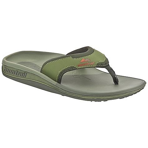 Entertainment Free Shipping. Montrail Men's Lithia Loop Flip DECENT FEATURES of the Montrail Men's Lithia Loop Flip Soft dynamic upper strap with in.instepin. release for comfort Full-length Integrafit footbed geometry for unsurpassed arch and fascia support Textured thermo-moldable Prfrm footbed creates a customized fit by conforming to the contour of your foot A firm arch, fascia, and metatarsal posting configuration on the Prfrm footbed and midsole for in.localizedin. support to rejuvenate the fascia after stress Full-length Gryponite outsole with low three-point lug design for multidirectional traction The SPECS Midsole: Compression-molded EVA Durometer: Top footbed post is 50 ( 3 degrees), Footbed hardness is 40 ( 3 degrees), Midsole post hardness is 55 (  degrees) Outsole: Gryptonite Weight: 6.2 oz / 176 g - $64.95
