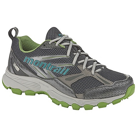 On Sale. Free Shipping. Montrail Women's Badrock OutDry Shoe DECENT FEATURES of the Montrail Women's Badrock OutDry Shoe Variable Fit System-variable width lacing, with a dynamic welded in.seamlessin. support frame-provides a custom fit and additional medial support Full-length compression-molded EVA midsole for cushioning and flexibility Dual-lug design combined with full-length Gryptonite outsole Deflecting lugs for cushioning Digging lugs at perimeter provide traction for up- and downhill runs Terra-Hex Midsole, a field of hexagonal posts, gives the shoe added cushioning and multi-directional flexibility The SPECS Midsole: Compression-molded EVA Durometer: 55 Asker-65 Asker C (+/- 3 degrees) Fluid Post Ride Height: 21 mm heel, 11 mm forefoot Outsole: Gryptonite Protection: Forefoot-only Trail Shield Toe Counter: Synthetic overlay Weight: 10.6 oz / 301 g Fit: Snug midfoot and open toe box - $103.99