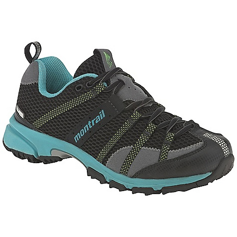 Fitness Free Shipping. Montrail Women's Mountain Masochist OutDry Shoe DECENT FEATURES of the Montrail Women's Mountain Masochist OutDry Shoe Webbing and strap closure system provides exceptional fit and comfort for the long run Full foot Trail Shield protects the foot from rocks and trail debris Gryptonite outsole provides great traction on wet and dry surfaces Gusseted tongue keeps out debris The SPECS Fit Note: Snug midfoot and open toe box Midsole: Single-density molded EVA Durometer: Medial Post 65 Asker C / 55 Asker C (+/-3 degrees) Ride Height: 20 mm heel, 10 mm forefoot Outsole: Gryptonite Weight: 10.6 oz / 301 g Protection: Full length Trail Shield Toe Counter: Synthetic overlay - $114.95