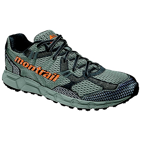 On Sale. Free Shipping. Montrail Men's Bajada Shoe DECENT FEATURES of the Montrail Men's Bajada Shoe Full length, compression molded EVA midsole for lightweight performance and cushioning on the trail Aggressive full-length Gryptonite (3-point lug) outsole design for unparalleled traction on challenging terrain Forefoot flex grooves for enhanced flexibility coupled with a trail shield for underfoot protection Articulated midfoot support frame integrated with a variable width lacing system for a customized fit The SPECS Midsole: Compression-molded EVA Durometer: 55 Asker C ( 3 degrees) Ride Height: 20 mm heel, 10 mm forefoot Outsole: Gryptonite Weight: 10.3 oz / 291 g - $75.99
