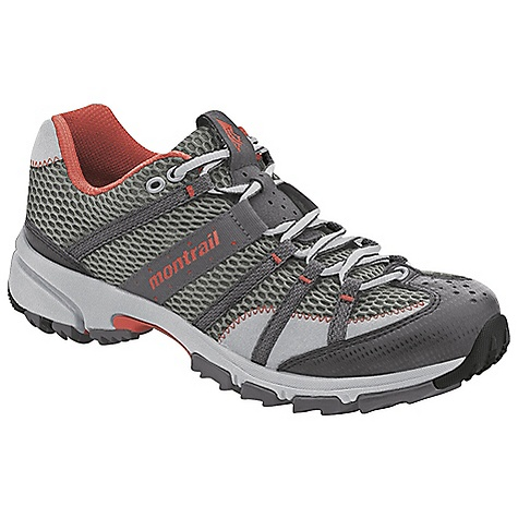 Fitness Free Shipping. Montrail Women's Mountain Masochist II Shoe DECENT FEATURES of the Montrail Women's Mountain Masochist II Shoe Webbing and strap closure system provides exceptional fit and comfort for the long run Full foot Trail Shield protects the foot from rocks and trail debris Lightweight, compression molded EVA and low profile midsole provide a responsive ride Gusseted tongue keeps out debris Big, angled blades at the forefoot dig deep for grip on loose or muddy terrain Digging lugs provide grip on mud, gravel, and other loose surfaces The SPECS Midsole: Single-density molded EVA Durometer: 55 Asker-65 Asker C ( 3 degrees) FluidPost Ride Height: 16 mm heel, 8 mm forefoot Outsole: Gryptonite Weight: 9.2 oz / 261 g Protection: Full length Trail Shield Toe Counter: Synthetic overlay - $99.95
