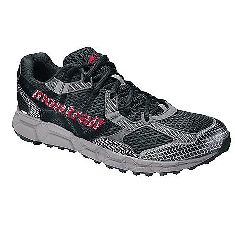 Free Shipping. Montrail Men's Bajada Outdry DECENT FEATURES of the Montrail Men's Bajada Outdry Full length, compression molded EVA midsole for lightweight performance and cushioning on the trail Aggressive full-length Gryptonite (3-point lug) outsole design for unparalleled traction on challenging terrain Forefoot flex grooves for enhanced flexibility coupled with a trail shield for underfoot protection Articulated midfoot support frame integrated with a variable width lacing system for a customized fit The SPECS Midsole: Compression-molded EVA Durometer: 55 Asker C ( 3 degrees) Ride Height: 20 mm heel, 10 mm forefoot Outsole: Gryptonite Weight: 12.4 oz / 352 g - $144.95