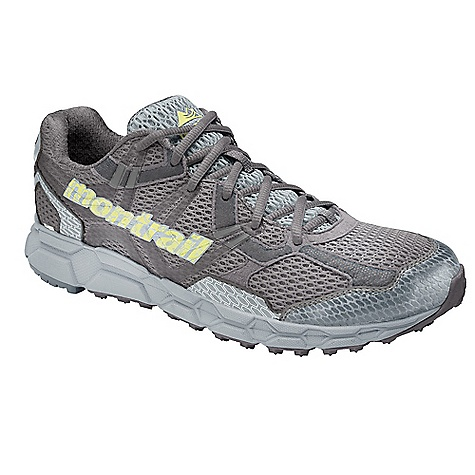 Free Shipping. Montrail Women's Bajada Outdry DECENT FEATURES of the Montrail Women's Bajada Outdry Full length, compression molded EVA midsole for lightweight performance and cushioning on the trail Aggressive full-length Gryptonite (3-point lug) outsole design for unparalleled traction on challenging terrain Forefoot flex grooves for enhanced flexibility coupled with a trail shield for underfoot protection Articulated midfoot support frame integrated with a variable width lacing system for a customized fit The SPECS Midsole: Compression-molded EVA Durometer: 55 Asker C ( 3 degrees) Ride Height: 20 mm heel, 10 mm forefoot Outsole: Gryptonite Weight: 10.4 oz / 295 g - $144.95