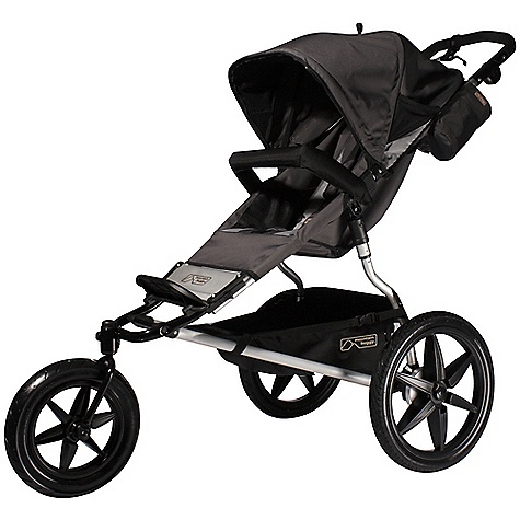 Entertainment Free Shipping. Mountain Buggy Terrain Single Stroller FEATURES of the Terrain Single Stroller by Mountain Buggy Adjustable canopy with flick out sun visor Detachable bumper bar 3 mode lockable swivel front wheel Tracking device Shock absorbing suspension Hand brake Multi adjustable handle Handle height: 86-118 cm 6060 T52 aircraft grade lightweight aluminum: 13 kg Gear tray for up to 5kg / 11lb Foot brake Wheel base: 63 cm Tires: 16in. SPECIFICATIONS: Ages: Newborn - 5 years Seat Load: 35kg / 77lbs Weight: 13kg / 29 lb Width: 63cm / 25 in Handlebar Height: 86 - 118 cm / 34 - 46 in Stand Fold Height: 109cm / 43 in Stand Fold Depth: 39cm / 15in Safety Certified: EN 1888:2005 - Europe, ASTM F833-08 - USA, AS/NZS 2088:2009 - CPN8 - Aus/NZ, SOR/85-379 - Can OVERSIZE ITEM: We cannot ship this product by any expedited shipping method (3-Day, 2-Day or Next Day). Even if you pick that option, it will still go Ground Shipping. Sorry for being so mean. This product can only be shipped within the United States. Please don't hate us. - $499.95