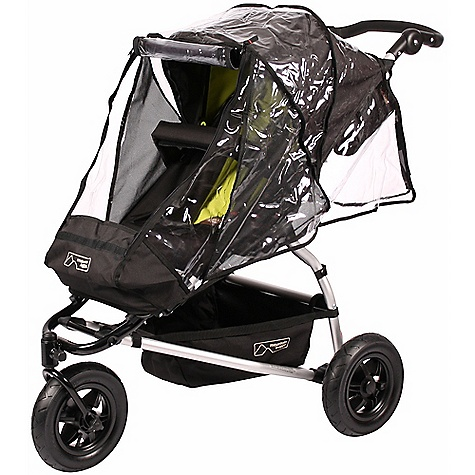Entertainment Mountian Buggy Swift Storm Cover FEATURES of the Swift Storm Cover by Mountain Buggy Protects from wind, rain and bugs Custom fit, hard wearing and water resistant material Easy to attach and easy to access child with zip opening Folds into small bag to fit in storage tray This product can only be shipped within the United States. Please don't hate us. - $39.95