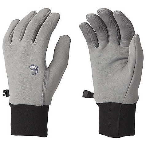Mountain Hardwear Power Stretch Glove DECENT FEATURES of the Mountain Hardwear Power Stretch Glove Flat-lock construction for a seamless fit Wear alone or use as a liner The SPECS Average Weight: 1.41 oz / 40 g Body: Polartec Power Stretch (88% polyester, 12% elastane) - $29.95